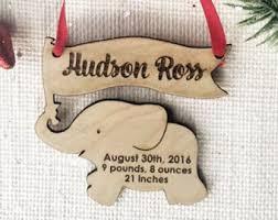 personalized dinosaur wood ornament baby s kỉ niệm hình