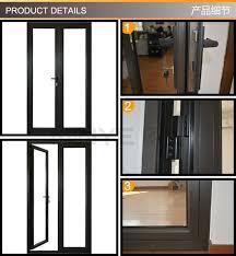 Exterior Aluminum Doors Glazed Kitchen Door Design Aluminum Back For Sale Within