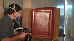 kitchen restaining cabinets staining oak darkerhing grey before