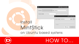 format as fat32 ubuntu digitallofice mintstick how to install on ubuntu based systems