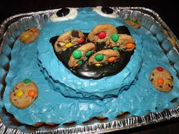 cookie monster birthday cake motherhood is an art