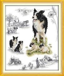 australian shepherd embroidery designs compare prices on cross stitch patterns online shopping buy low