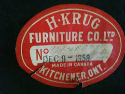 h krug furniture company meanwhile at the manse
