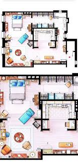 sex and the city floor plan carrie bradshaw apartment from sex and the city by nikneuk on