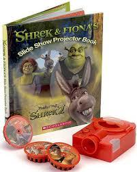 shrek interactive picture book slide projector scholastic