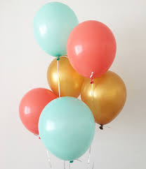 balloon delivery naples fl coral mint gold balloons coral mint gold party balloons