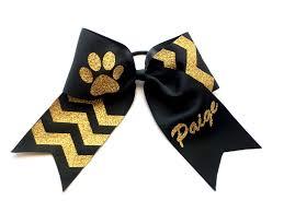 african american cheer hair bows monogram cheer bow monogrammed cheer bows black gold cheer