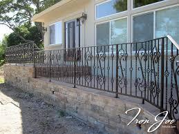 Decorative Wrought Iron Railings Wrought Iron Railings San Francisco Bay Area