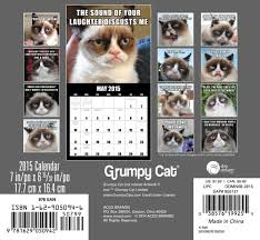 Grumpy Cat Mini Wall Calendar - grumpy cat mini calendar 2015 day dream 9781629050942