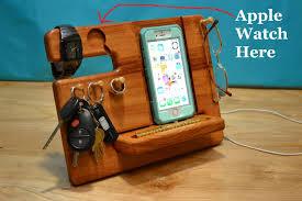 wood anniversary gift ideas for him custom apple station wood