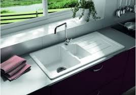 White Ceramic Kitchen Sink 1 5 Bowl White Ceramic Kitchen Sink 1 5 Bowl Luxury Reginox White Ceramic