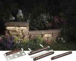 Bench Lighting Kichler Design Pro Led 12v Hardscape Deck Step And Bench