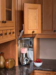 Kitchen Appliance Lift - custom kitchen cabinets dewils fine cabinetry