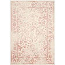 Pink Grey Rug Pink Area Rugs Rugs The Home Depot