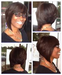 african american short bob hairstyles back of head full sew in bob jpg hair and nails pinterest bobs hair