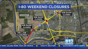 interstate 26 map westbound i 80 in sacramento to 1 this weekend cbs san