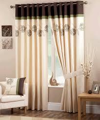 Green And Brown Curtains Petula Readymade Green Brown Curtain Curtains And Wonderful
