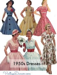 dress styles vintage 50s dresses 8 classic retro styles