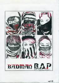 Bad Man B A P Badman By Artbeattwins On Deviantart