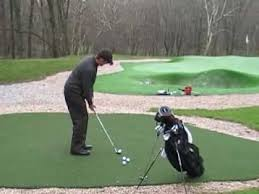 phil rowe pitch on artificial golf greens