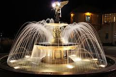 water fountain with lights lighted outdoor water fountains illuminating your backyard garden