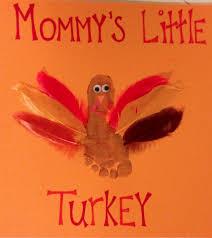 meaningful handprint gifts diy thanksgiving turkey footprint
