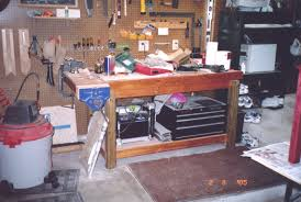 Tool Bench For Garage Garage Workbench