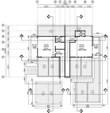 semi detached floor plans grand single story semi detached house plans 6 home act