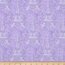 michael miller petite paris eiffel tower purple discount