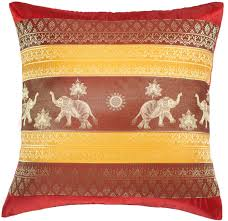 Cushion Covers For Sofa Pillows by Amazon Com Avarada 16x16 Inch 40x40 Cm Print Elephant Sun
