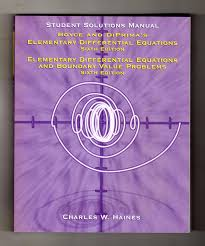 diffeial equations with boundary value problems 8th edition