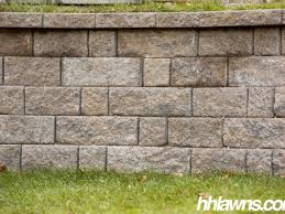 Lawn And Landscape by Retaining Walls H U0026h Lawn And Landscape Omaha Ne