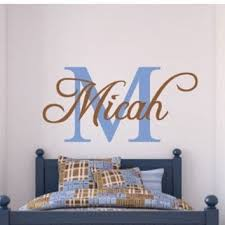 Monogram Wall Decals For Nursery Best Monogram Vinyl Letters Products On Wanelo