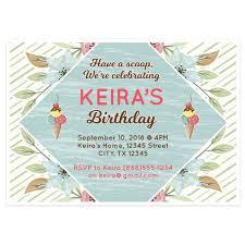 ice cream birthday invitations free printable invitation design