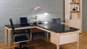 Granite Computer Desk Modern Granite Top Desk Throughout L Shaped Stoneline Designs