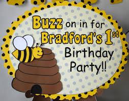 bumblebee decorations bumble bee decorations door sign honey bee party