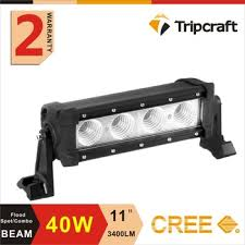 battery operated light bar 11 40w led work light bar 10 30dc l battery powered led work