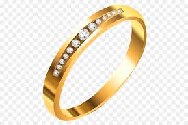 fashion golden rings images Earring wedding ring clip art golden ring png download 563 600 jpg