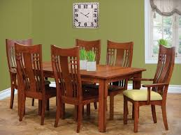 Craftsman Dining Table by Encinitas Craftsman Dining Table Countryside Amish Furniture