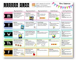 naeyc lesson plan template for preschool sample weekly lesson