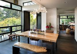 Living Room Dining Table Goodness 50 Live Edge Dining Tables That Wow