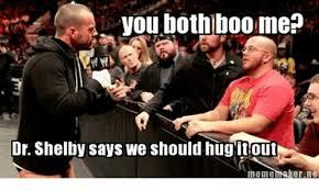 Do You Boo Boo Meme - you both boo me dr shelby says we should hug it out meme er ne