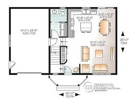 fancy idea small house floor plans with garage 13 adu plan 2