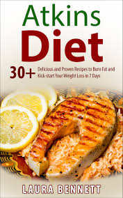 buy atkins diet 30 delicious and proven recipes to burn fat and