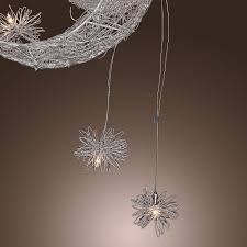 lightinthebox moon star featured pendant light with 5 lights
