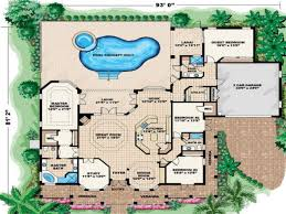 stock floor plans house plan beach home with elevators particular plans pictures