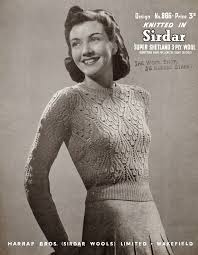 165 best vintage knits images on vintage knitting