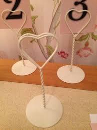wedding table number holders wedding table number holders ebay