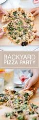 backyard pizza party