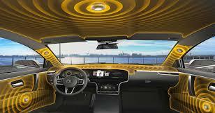futuristic cars interior this futuristic audio system uses a car s interior as speakers